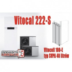 Vitocal 222-S - 8 kW +...